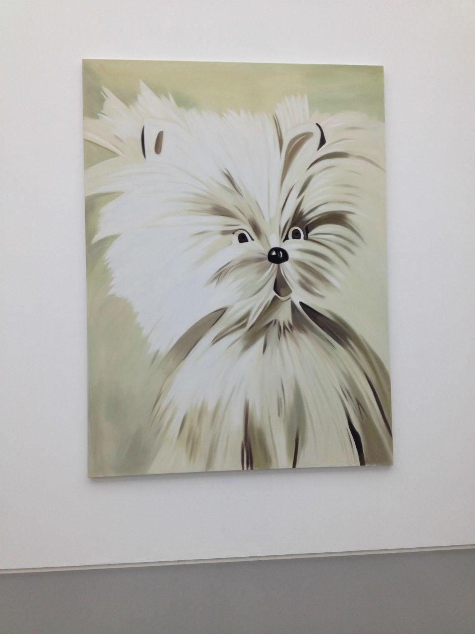art lovers tableau chien