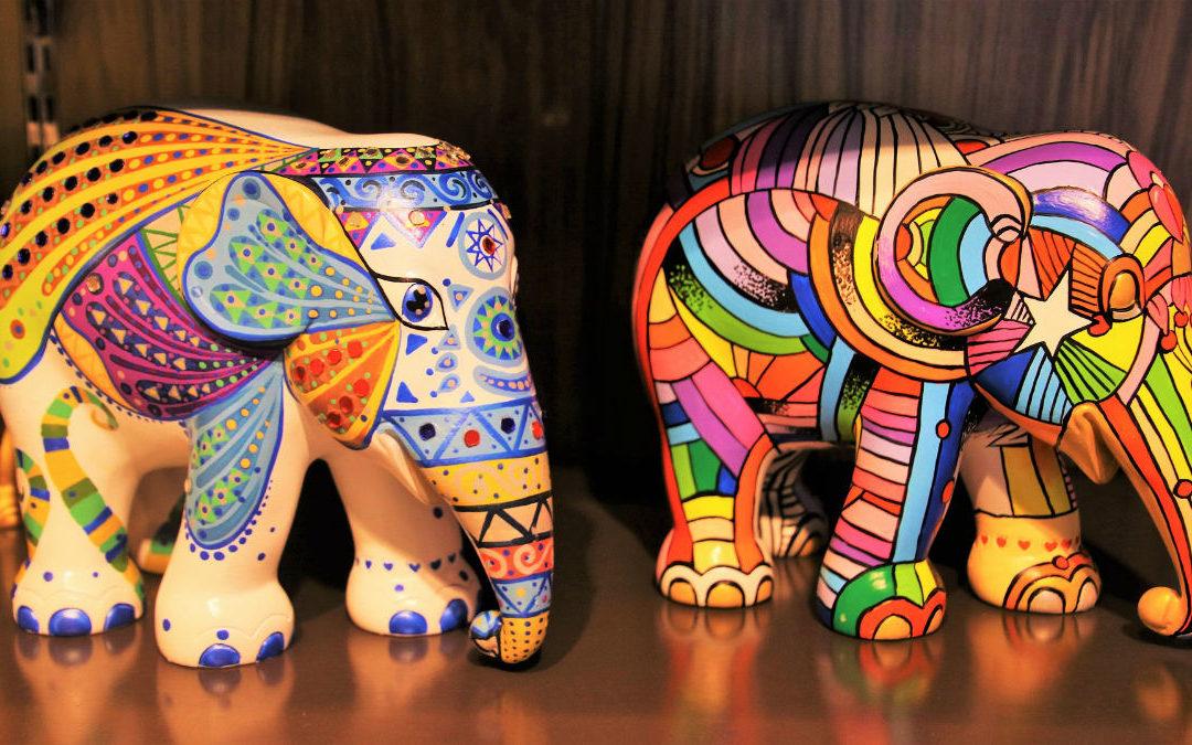 Tendance peinture : des éléphants partout !